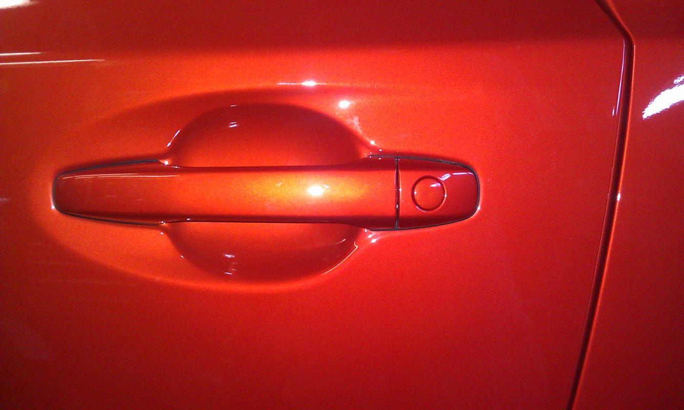 Toyota Scion Key Techniques Keyhole Cover
