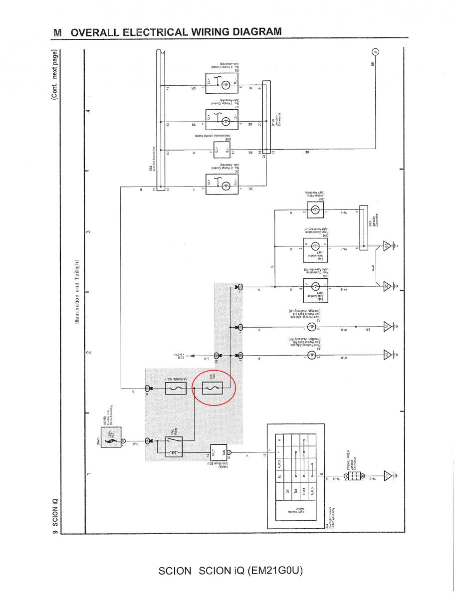 Toyota Iq Fuse Box Wiring Library Diagram Parking Light Parkinglights2